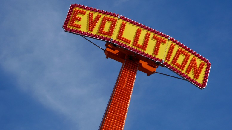 """Evolution - The Ride"" (CC BY 2.0) by Kevin Dooley on Flickr"
