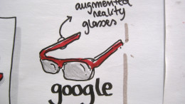 """Google augmented reality glasses"" (CC BY-SA 2.0) by visualpun.ch on Flickr"