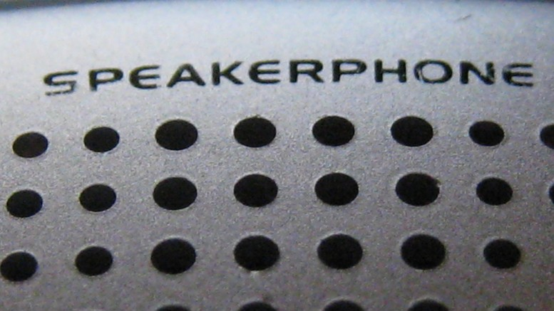 """Speakerphone"" (CC BY-NC 2.0) by Brandy on Flickr"