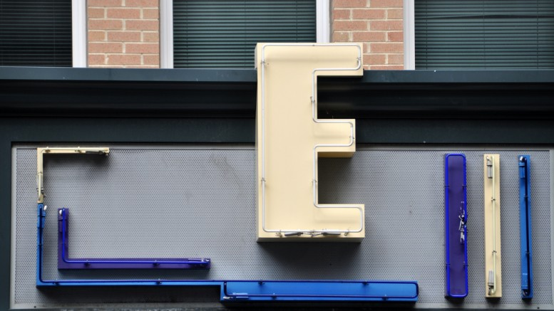 """The Letter E""  (CC BY-NC-ND 2.0) by Kevin Harber on Flickr"