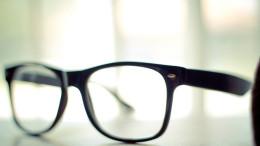 Ett par glasögon