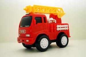 En brandbil