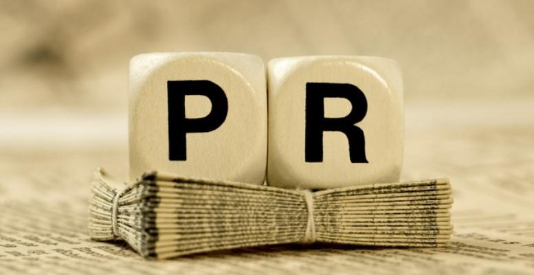 Bokstäverna PR