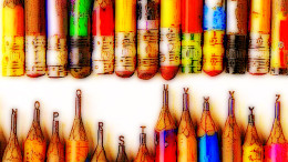"""""""Pencil"""" CC BY-NC 2.0 by 张 磊 on Flickr"""