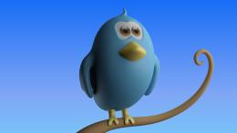 En fågel