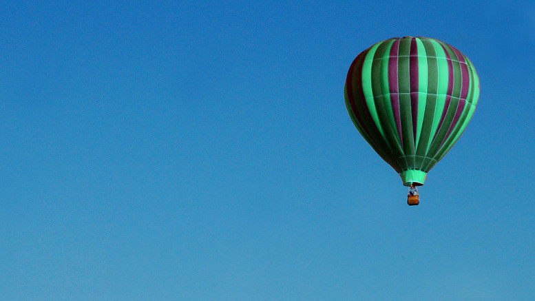 En luftballong