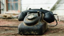 En gammal telefon