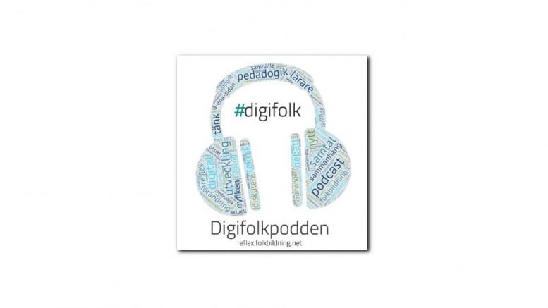 Digifolkpoddens logga
