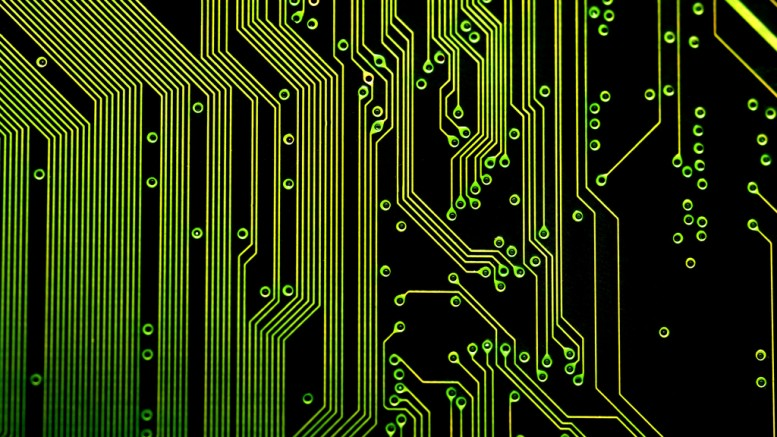 """electronic circuit board"" (CC BY 2.0) by Creativity103 on Flickr"