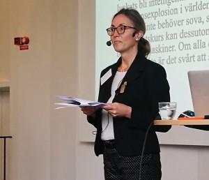 Cecilia Bjursell, forskare